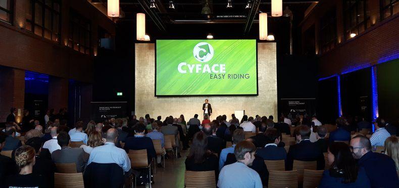 Cyface auf der Startup AUTOBAHN