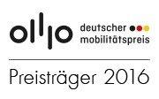 Auszeichnung als Leuchtturmprojekt für eine mobile Gesellschaft mit dem Deutschen Mobilitätspreis