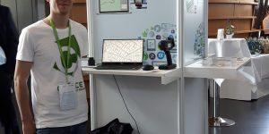 Cyface Stand auf der futureSAX Innovationskonferenz