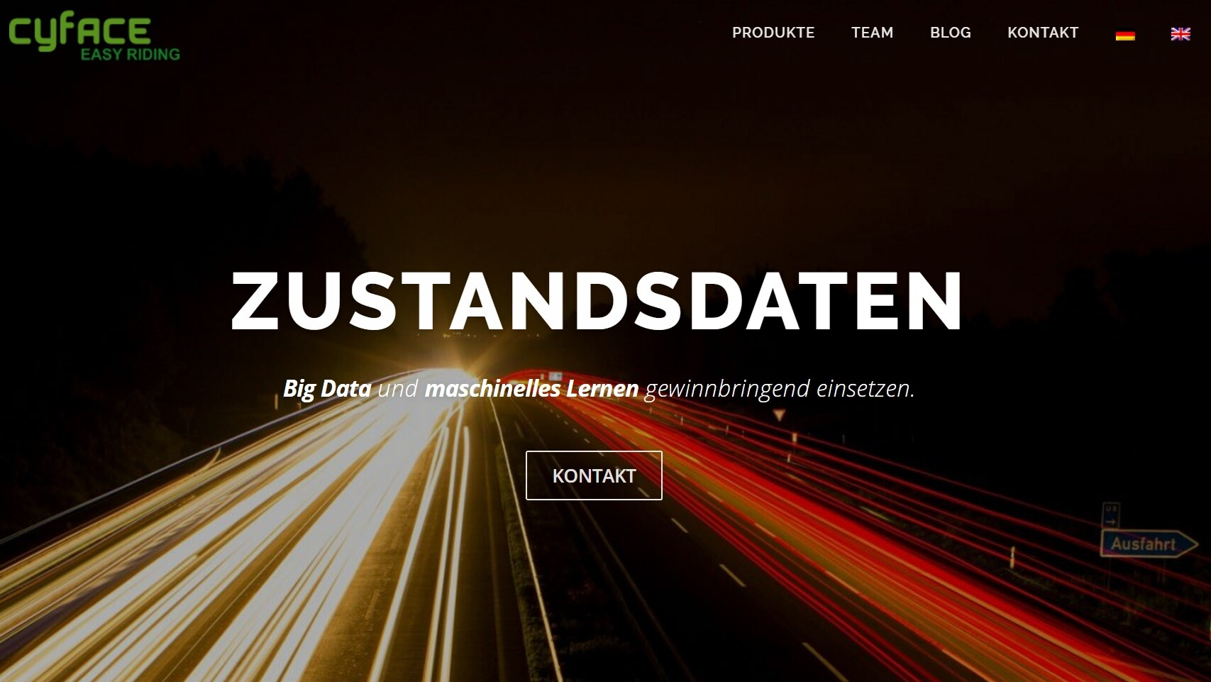 Neuer Webauftritt zur Gründung der Cyface GmbH