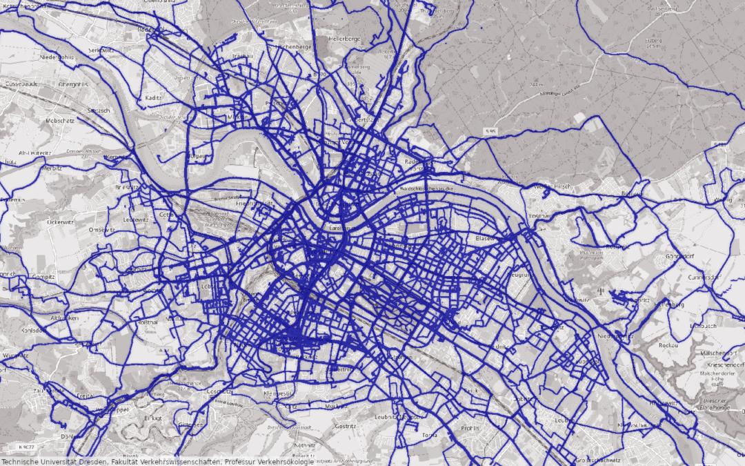 Forschungsprojekt RadVerS — Komfortables Radfahren