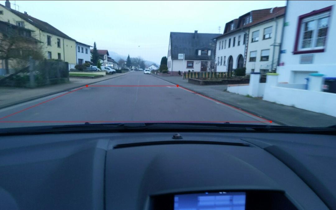 Straßenerkennung im Projekt DatEnKoSt